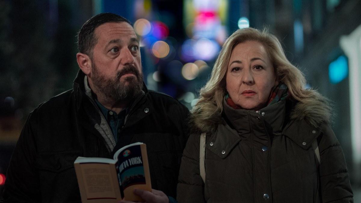 Pepón Nieto y Carmen Machi en 'Un efecto óptico'