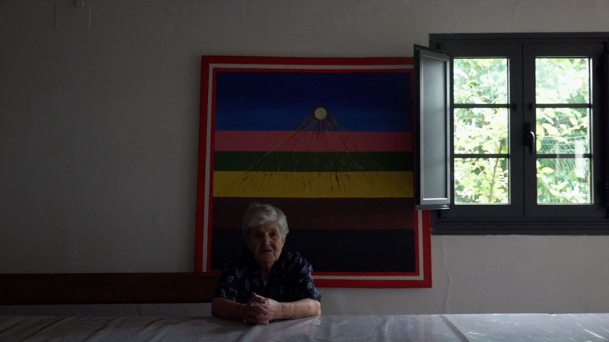 Francisca, agradable anciana gallega.